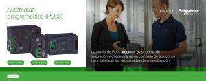 AUTOMATAS PROGRAMABLES (PLCs) SCHNEIDER ELECTRIC - ASEISA
